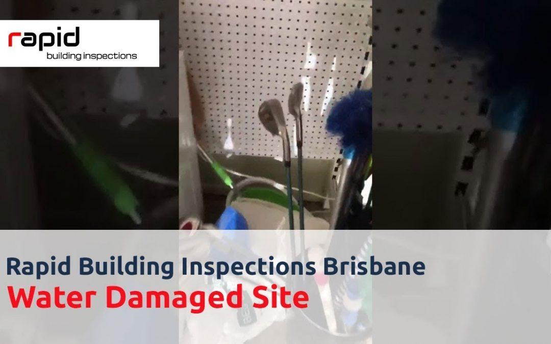 Rapid Building Inspection   Water Damaged Site   Building & Pest Inspection