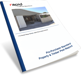 Pre purchase standard property and timber pest report